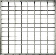 Решетка металлическая стационарная ø16 , ячейка 150х150